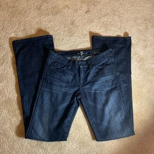 "7 For All Mankind ""A"" Pocket Flare Jeans-SZ 28"